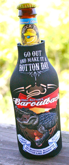 BAR OUT BACK BOTTLE COOZIE