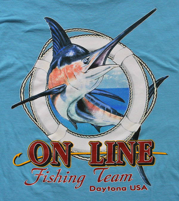on line fishing