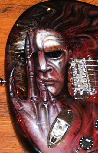 giger future kill guitar