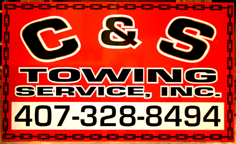 c&s tow sign